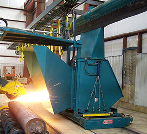Schust vulcan zipper duct at a foundry facility