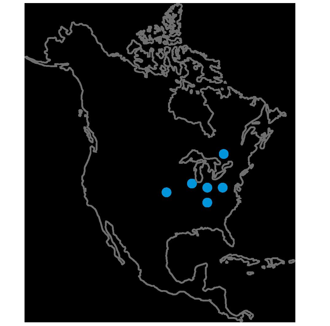 Scheuch North America location map