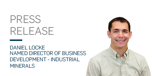 Daniel Locke named director of business development industrial minerals