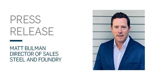 Matt Bulman press release